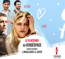 Chérie : un concert pop love en Vendée