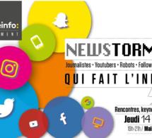 """""""Newstorm"""" : un événement dédié à l'info et à l'innovation"""