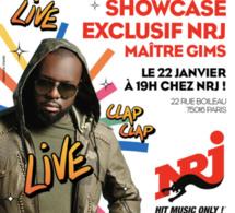 NRJ : un showcase exclusif de Maître Gims
