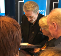 Eddy Mitchell rencontre les auditeurs de France Bleu