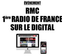 RMC performe sur le marché numérique