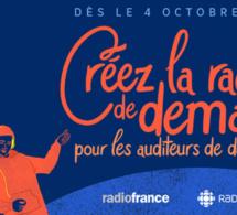 Radio-Canada et Radio France s'unissent pour lancer un accélérateur d'idées