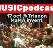 Conférence : au MaMa Festival, la musique à l'assaut du podcast