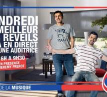 RFM en direct de chez une auditrice avec Jérémy Frérot