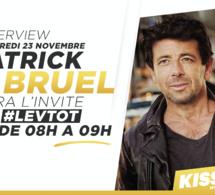 Patrick Bruel dans les studios de Kiss FM