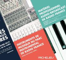 Nouvelles ventes aux enchères à Radio France