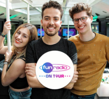 Belgique : le Fun Radio On Tour en direct des grandes villes
