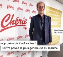 Belgique : NGroup passe de 2 à 4 radios