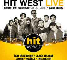"Hit West organise un ""Hit West Live"" à Saint-Brieuc"