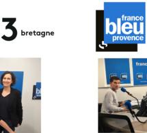Depuis ce matin, deux nouvelles matinales de France Bleu diffusées sur France 3