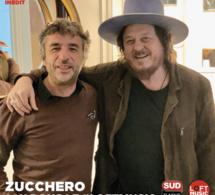 Zucchero dans ans le Loft Music sur Sud Radio