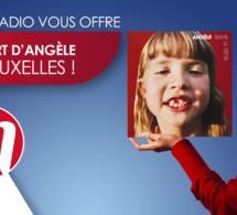 Angèle en concert avec M Radio