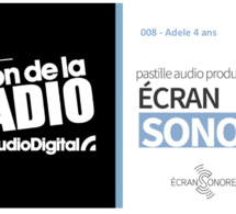 """Les Français et la radio : """"Adele 4 ans"""""""