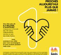 Les Indés Radios fidélisent près de 8.5 millions d'auditeurs
