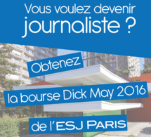 Profitez de la Bourse Dick May à l'ESJ Paris