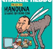 Hanouna sévèrement caricaturé par Charlie Hebdo