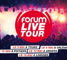 Forum Live Tour : une tournée de 5 concerts