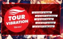 """57 000 auditeurs au """"Tour Vibration"""""""