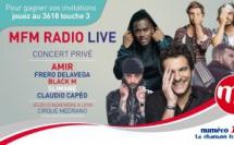 5 artistes pour le prochain MFM Radio Live