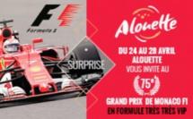 Un auditeur d'Alouette au Grand Prix de Monaco