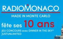 Radio Monaco offre un déjeuner gastronomique dans les airs